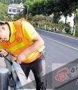 渝北马路护栏装智能碰撞系统 车辆撞击自动传回信息