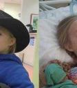 美国一8岁女孩患乳腺癌 癌症家庭屡陷困境