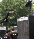 北京欢乐谷举办第四届全国跑酷精英赛庆祝端午