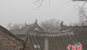 """河南郏县""""神秘""""红石古寨 传承古村落建筑文化"""