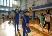 2020天津市排球校园公益行走进河西区